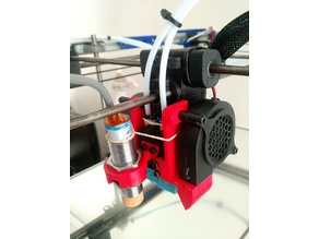 Ultimaker 2 E3D Chimera mount