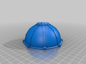Industrial dome for wargaming (remix)