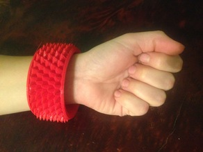 knurled bracelet (parametric)