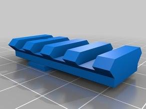 CZ P-09 rearsight picatinny rail