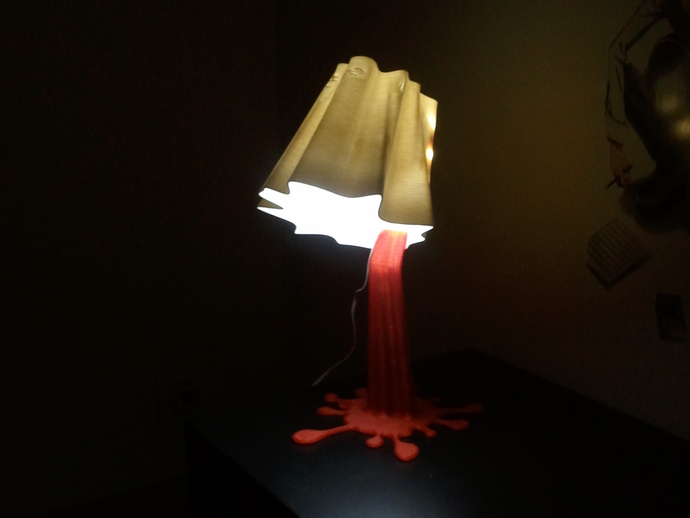 Blood lamp by batphil - Thingiverse