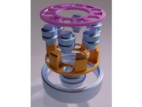 Parametric roller bearing