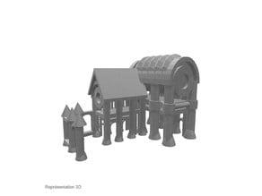 Church with archways