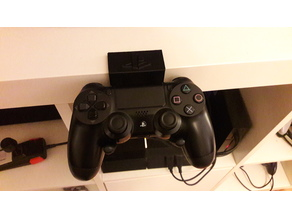 PS4 controller mount for IKEA Expedit