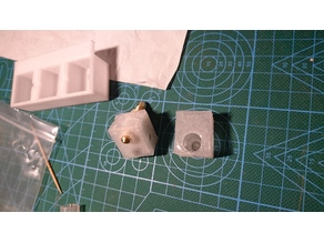 Moulds for the Heat preservation sleeve use for E3D heating Block