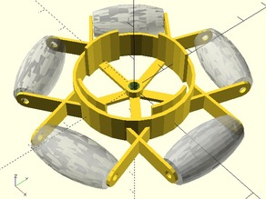 Customisable Omni-wheel