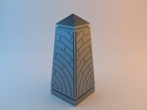 Structured wargaming obelisk