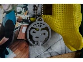Soilwork [logo][keychain]