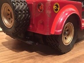 Carrera Structo Jeep Renegade Tyre