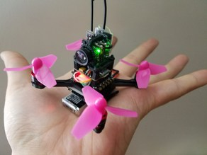 [CC-00] tiny indoor fpv drone with 0603 brushless motor and 40mm prop