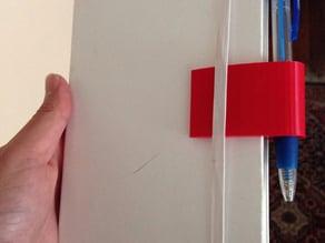 Sharpie Clip for Moleskine Notebook