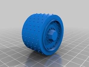Alternative wheels for ork half track