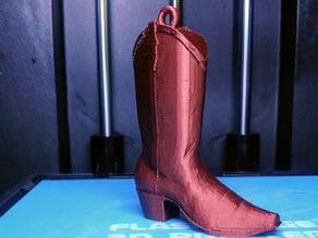 Cowboy Boot Key Fob