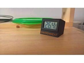 Thermometer module enclosure