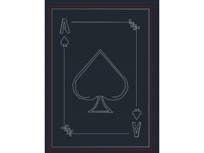 Laser Cut Playing Card Toy