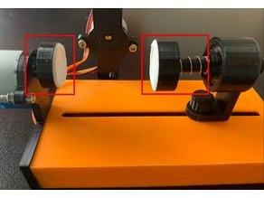 Eggbot (derivative) 15mm & 24mm gasket ends to hold egg
