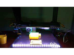 RGB LED Light Bar for Artillery Sidewinder X1