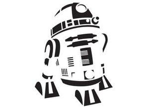 R2 D2 Stencil 2