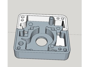 Mysterious Red Box - detail piece for ESB Boba Fett blaster stock