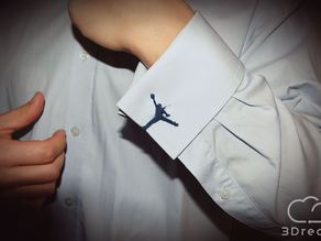 Michael Jordan cufflink