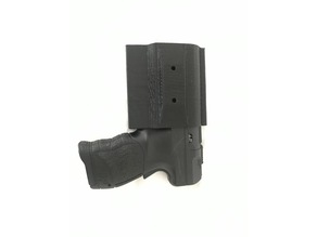 Ambidextrous Walther PDP Desk Holster