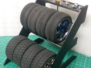 Tires Rack / Rack à pneu R/C