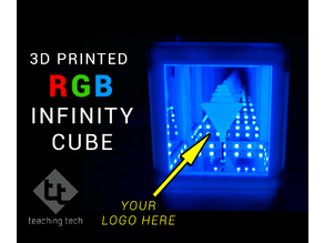 Infinity Cube (with logo option)