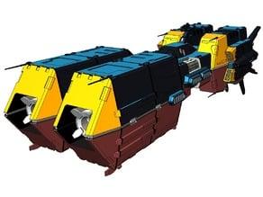 REF - SDF-3 Pioneer Refit - WIP