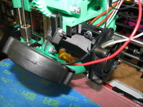 Prusa i3 - Extruder Mounted Radial Cooling Fan