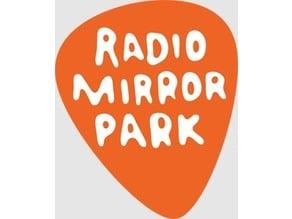 Radio Mirror Park Keychain