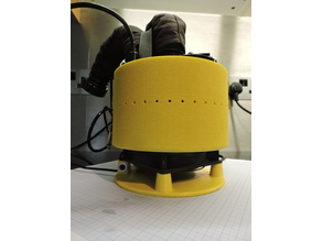 JJ-CCR Fan Driven Head Dryer with stand/base