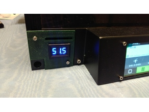 Two Trees Sapphire-S Enclosure Temperature Display