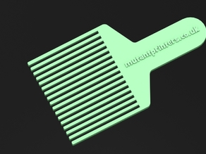 Flat Top Hair Comb for Clippers no.4 , to get that perfect flat cut