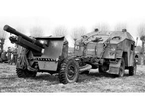 25 pounder artillery gun