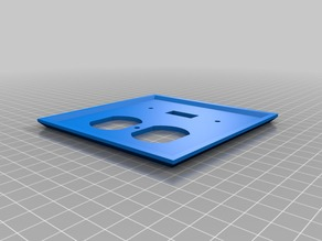 Test wall plate 2