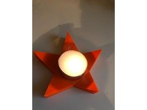 Till Tea Light Star