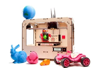 The MakerBot Replicator