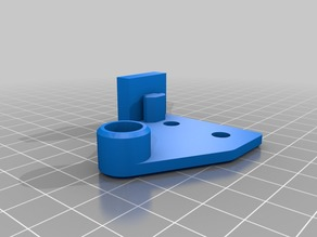 Ender 2 Filament Guide with Z Axis Stabilizer