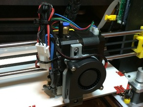 Adapter for Radial FAN  for DYZE Extruder