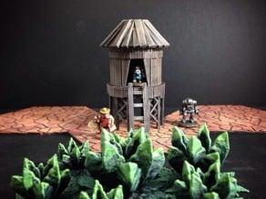 Stilt Hut (15mm scale)