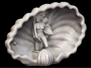 Sculpture- Königsberg - Hermann Braсhert - Nimfa