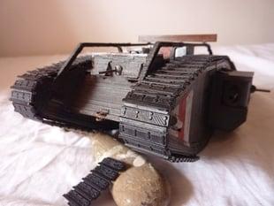 British WW1 Mark Tank - Mk IV