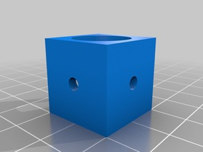 20mm Extrusion Corner piece for M3 screws