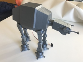 star wars atat motorized