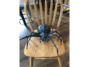 Giant Posable Halloween Spider w/REMIXED leg segment (UPDATED)