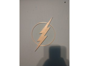 The Flash wall sign