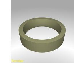Flat Ring Thin - Size 7