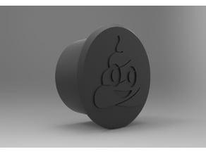 "Poop Emoji Desk Plug - 2"""