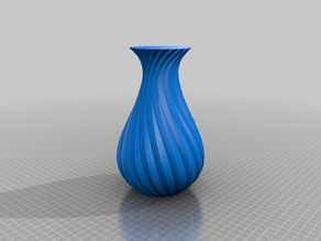 7-Groove Vase