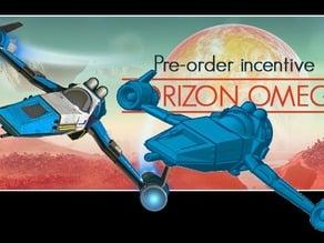 No Man's Sky - Horizon Omega Space Ship